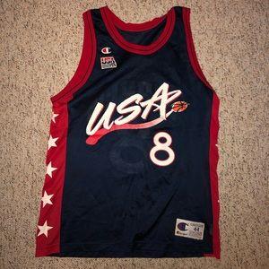 Other - Vtg Pippen Team USA Jersey Vintage EXCELLENT Med